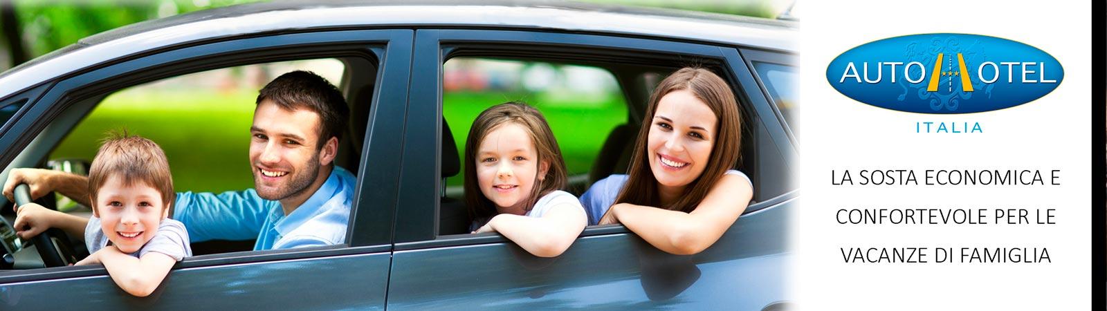 Autohotel - ideale per chi viaggia con la famiglia
