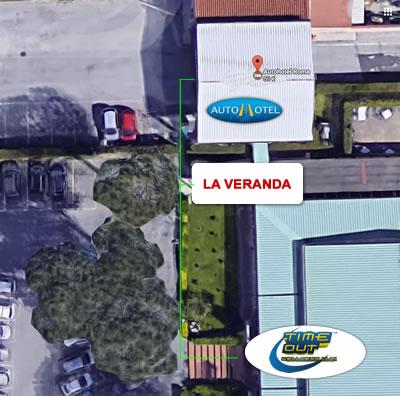 Ristorante La Veranda - Autohotel Roma - Palestra Timeout Wellness Club