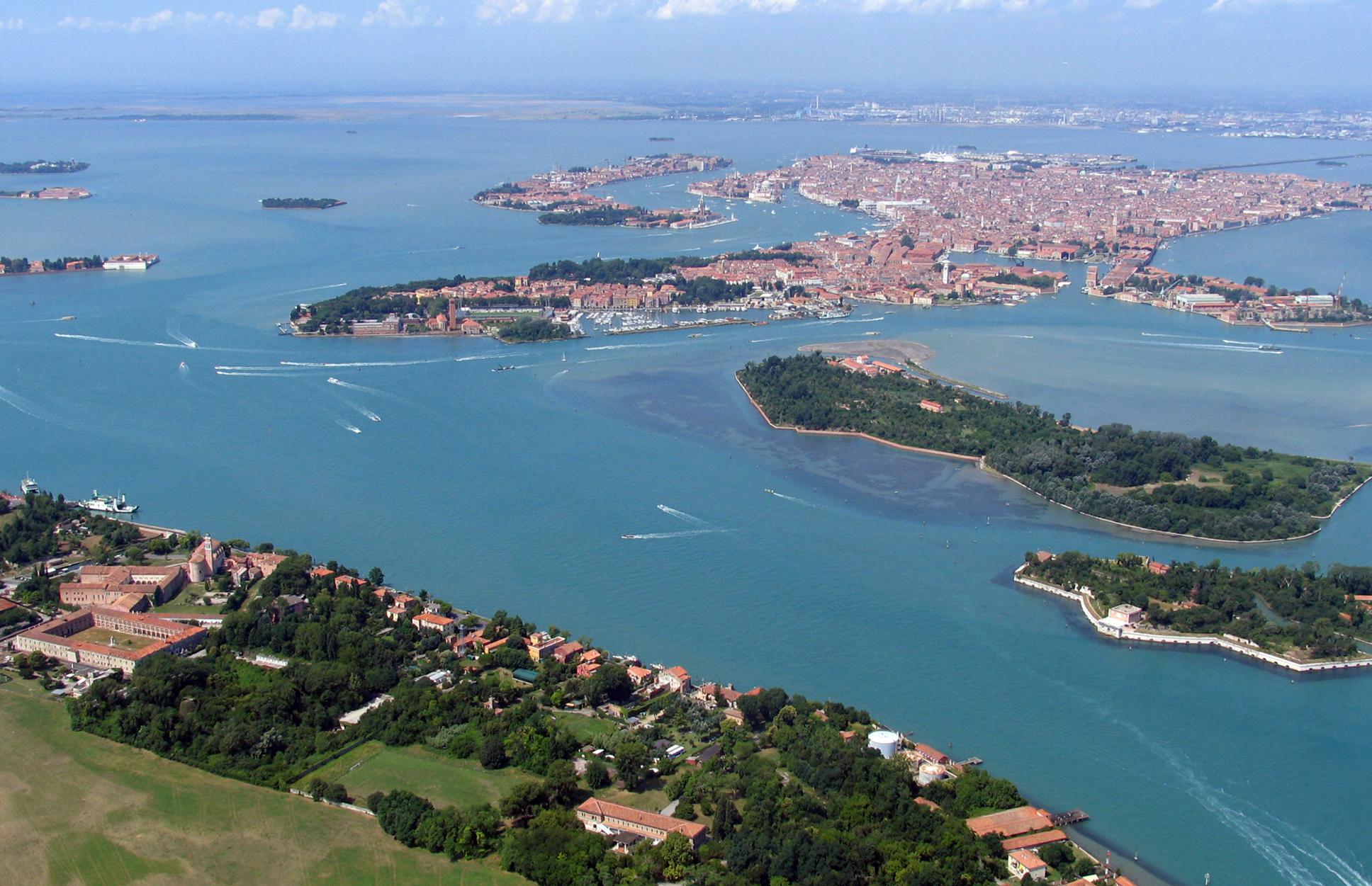 Venezia dall'alto - Autohotel Venezia