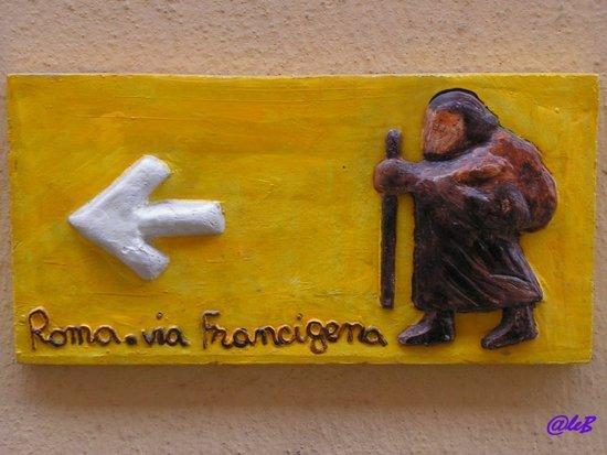 Logo Via Francigena Autohotel Roma
