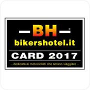 Sconto del 10% per i possessori della bikershotel.it Card
