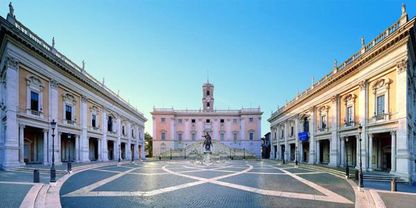 Foto della gallery della Mostra di Archimede ai Musei Capitolini di Roma