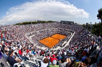 tornano a roma gli internazionali di tennis. Black Bedroom Furniture Sets. Home Design Ideas