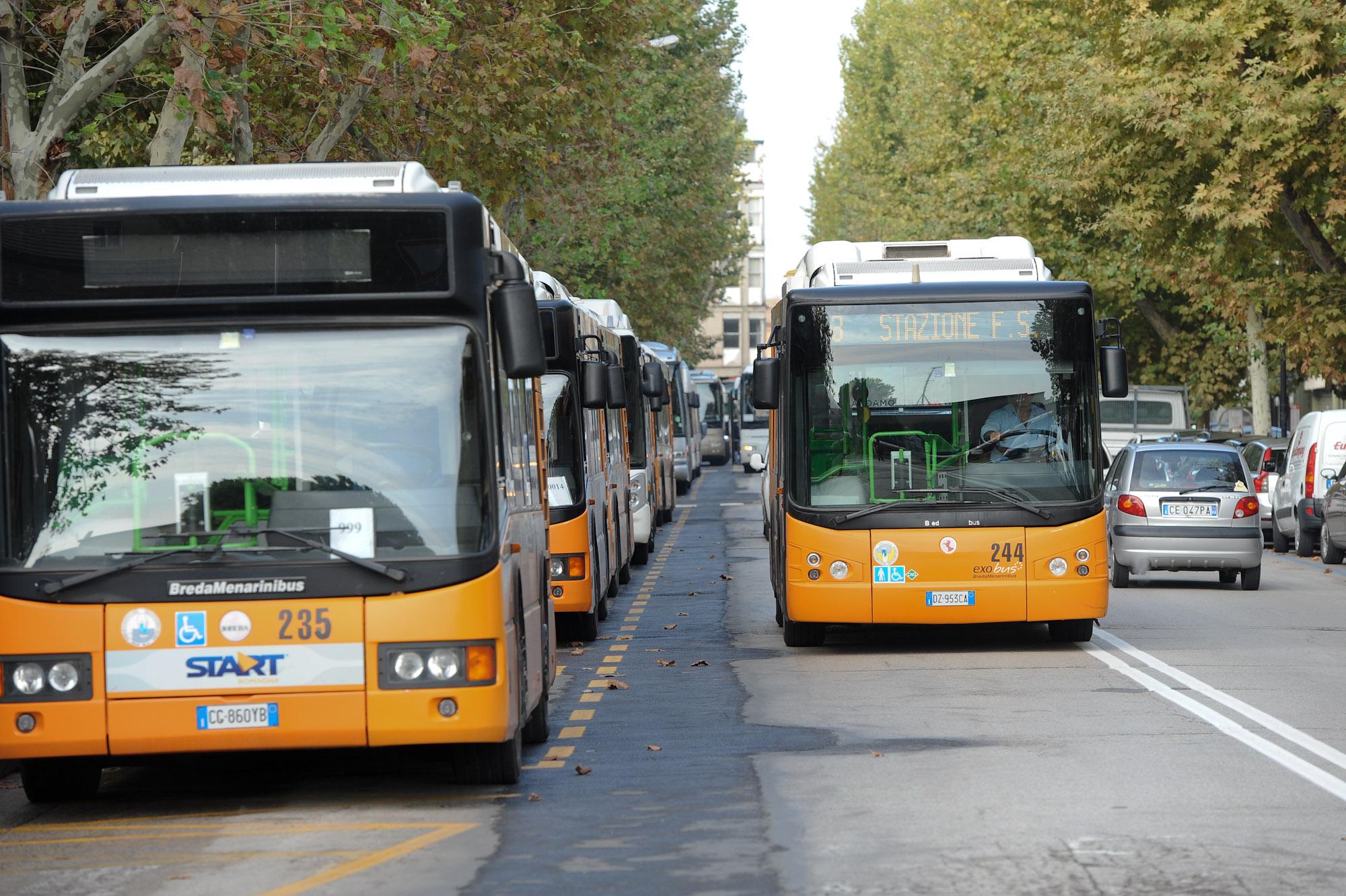 Collegamenti con il centro di Ravenna in bus da Autohotel