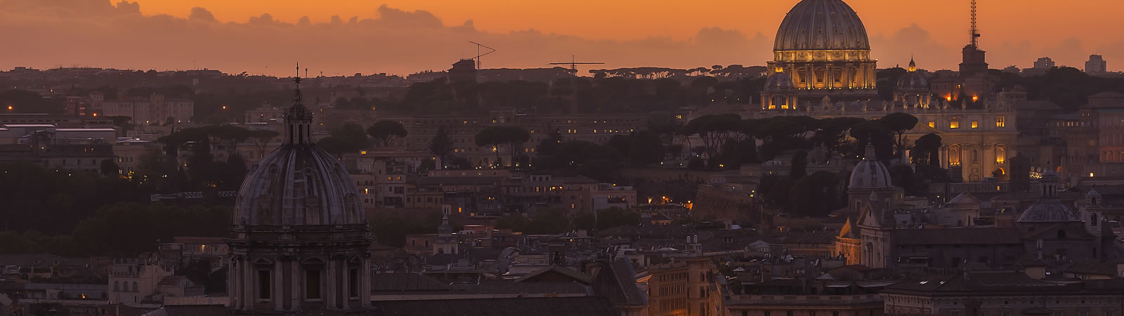 Roma, panorama di San Pietro