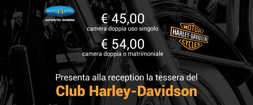 Convenzione Autohotel con Club Harley-Davidson