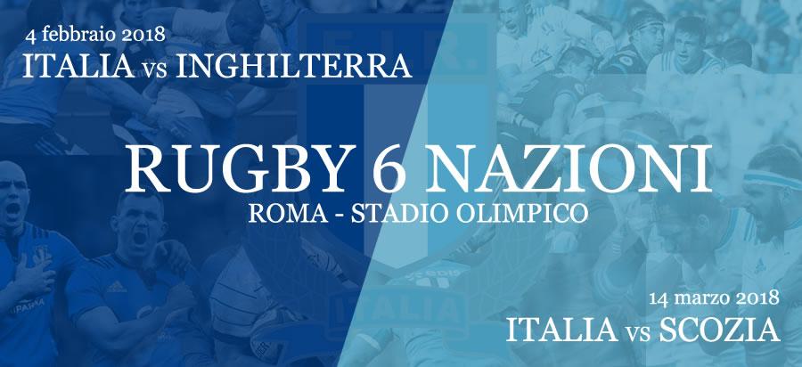 Rugby 6 nazioni 2018 - Roma