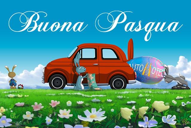 Autohotel augura a tutti Buona Pasqua