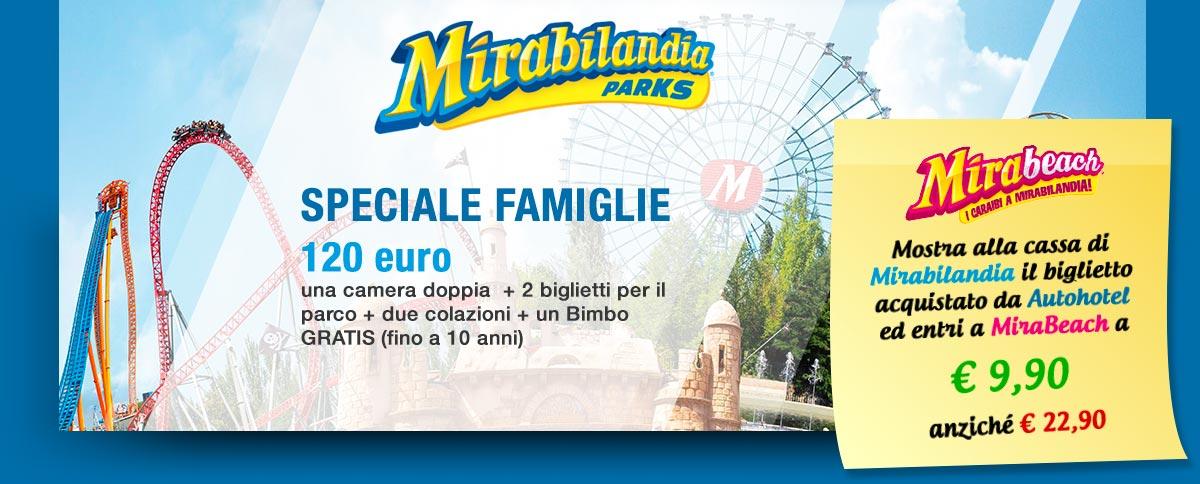 Autohotel - Offerta Mirabilandia + Mirabeach agosto 2018