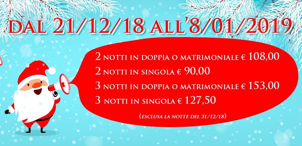 Autohotel Roma - offerta Natale 2018