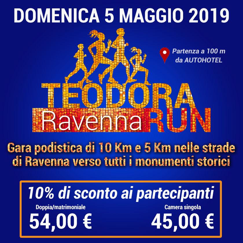 Autohotel offerta per i partecipanti alla Teodora Ravenna Run