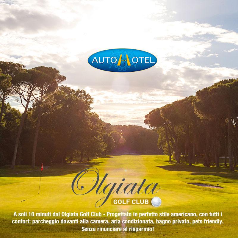 Autohotel Roma a 10 minuti dall'Olgiata Golf Club