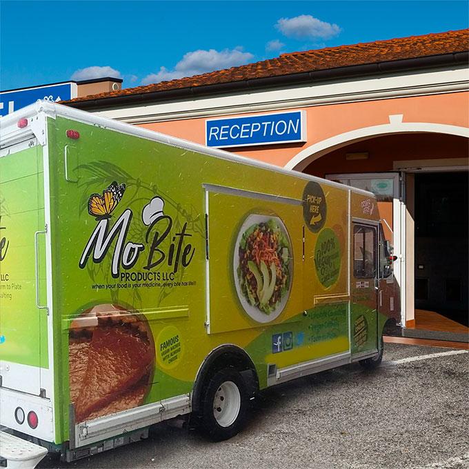 Autohotel è l'hotel preferito dai Truck Food