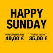 L'offerta dedicata alla domenica!