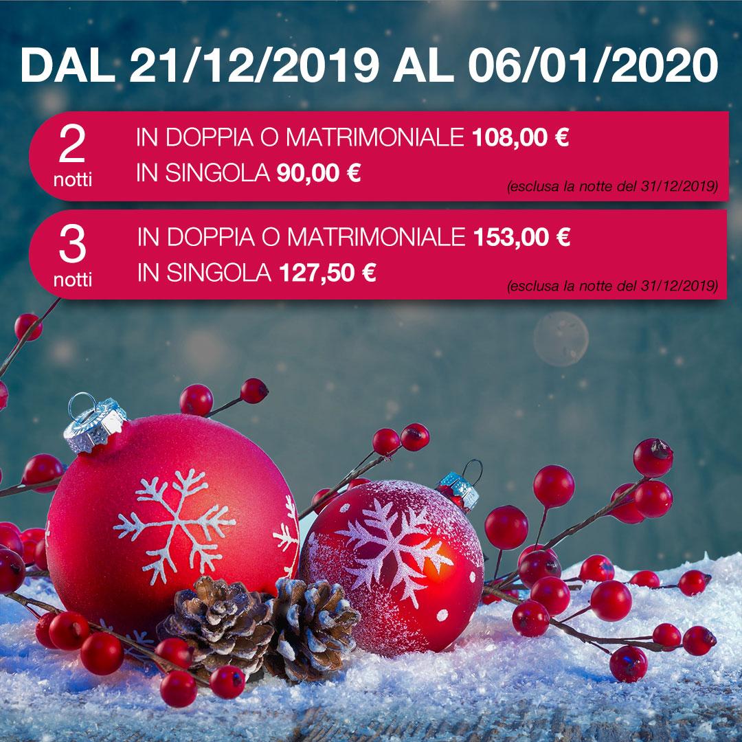 Autohotel Roma - offerta Natale 2019