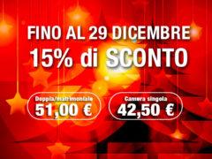 Autohtel Ravenna - La super promozione continua anche a dicembre!!!