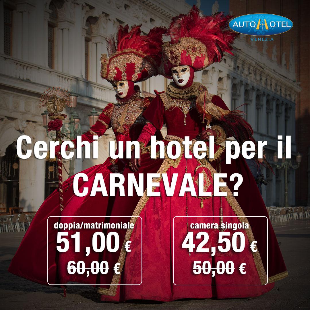 Autohotel Venezia - L'hotel per visitare il Carnevale di Venezia