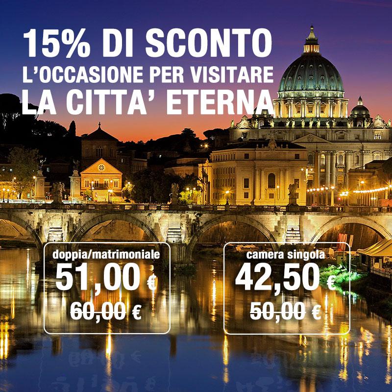 Da Autohotel visitare Roma marzo è un grande affare - Sconto del 15%