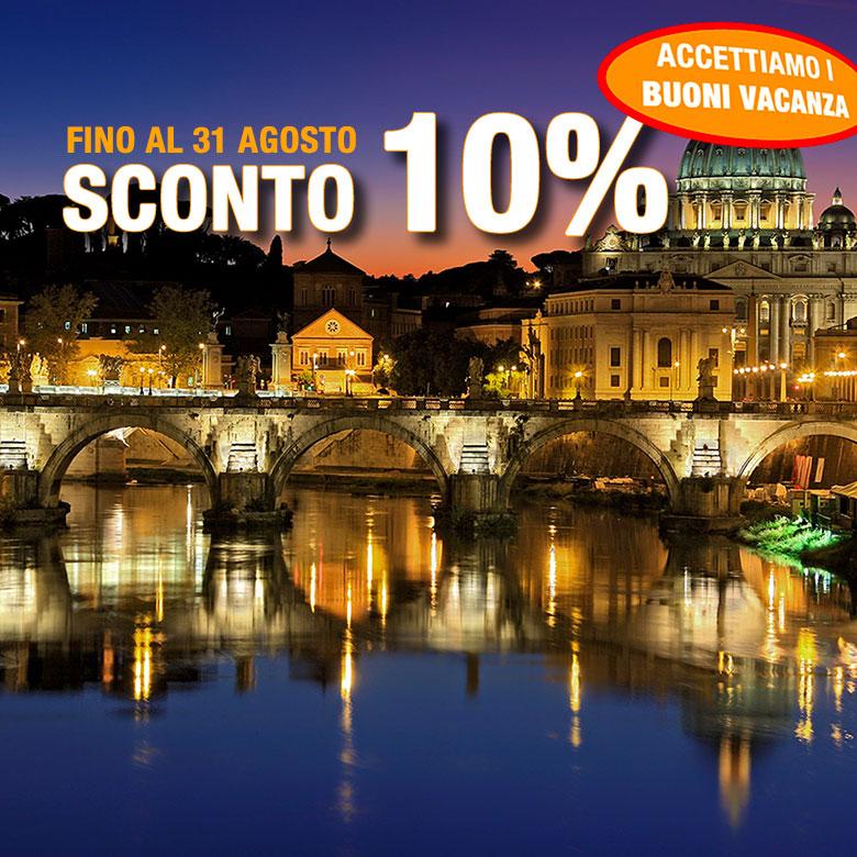 Autohotel Roma - offerta giugno 2020 - Sconto del 10%