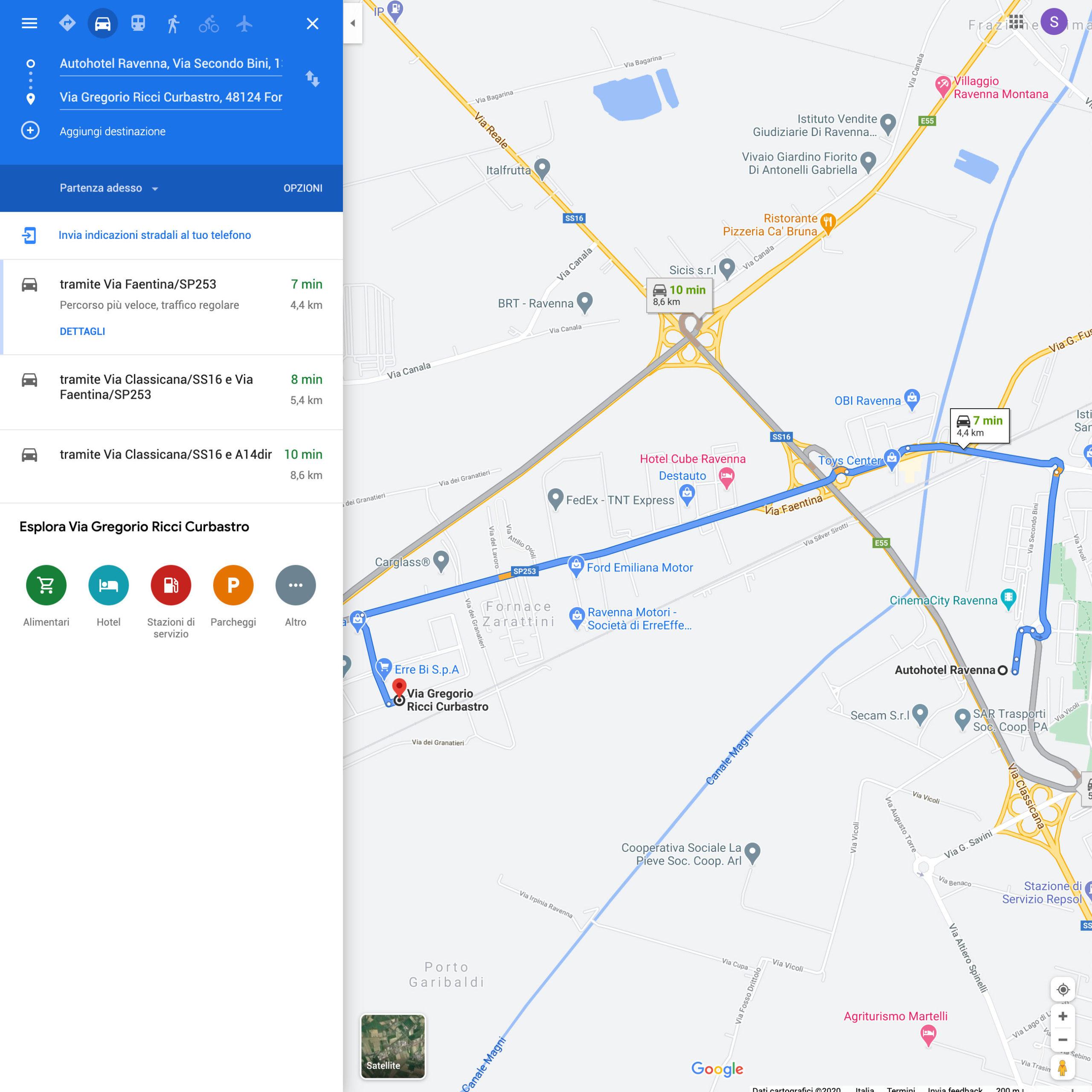 Autohotel Ravenna è a pochi minuti dal DRIFT 2.0